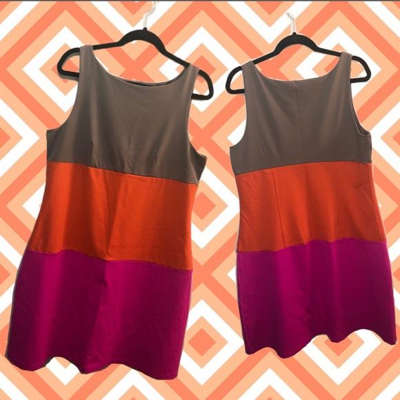 Cynthia Rowley Dresses & Skirts - Cynthia Rowley Color Block Dress XL